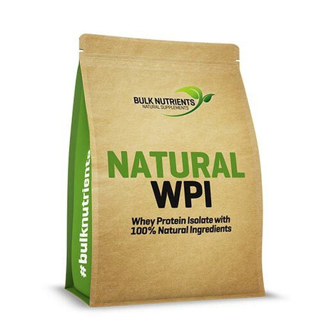 Bulk Nutrients Natural Whey Protein Isolate Chocolate (1kg)