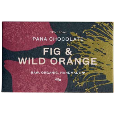 Pana Raw Cacao Fig & Wild Orange Choc 45g