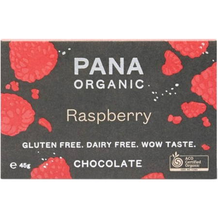 Pana Raw Cacao Raspberry 45g