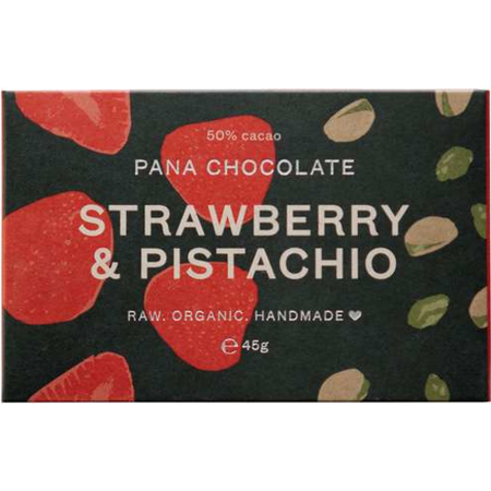 Pana Raw Strawberry & Pistachio 45g