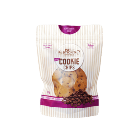 Pat and Stick's Chocolate Mini Cookie Chips 170g