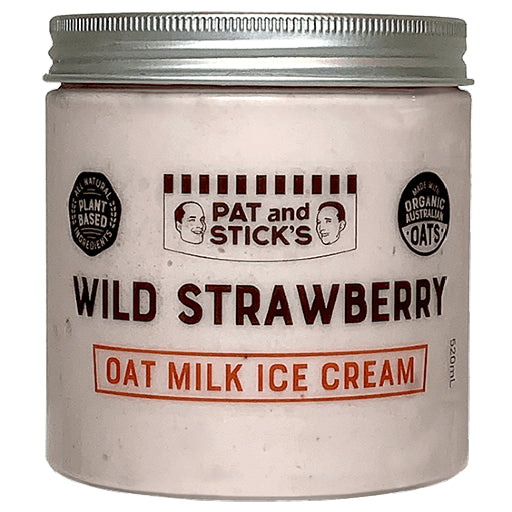 Pat and Stick's Oat Milk Wild Strawberry 520ml