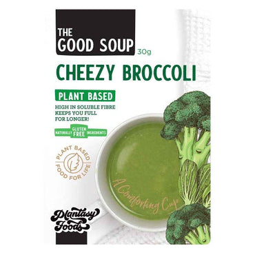 PLANTASY FOODS The Good Soup Cheezy Broccoli (30g)