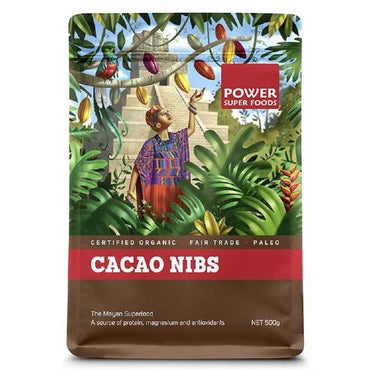 Power Super Foods Cacao Nibs (125g)