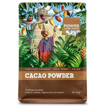 Power Super Foods Cacao Powder (500g)
