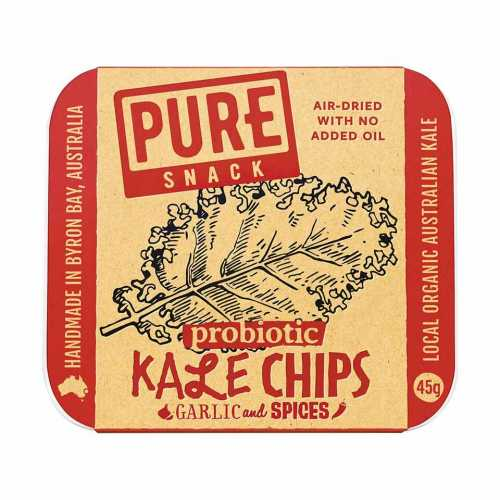 Extraordinary Foods Kale Chips Garlic And Spices