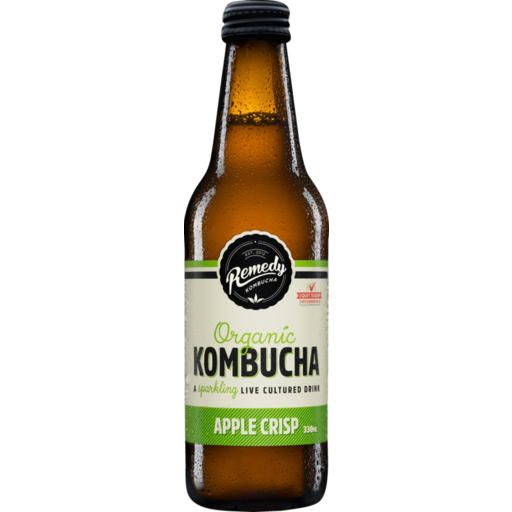 Remedy Kombucha Apple Crisp 330ml