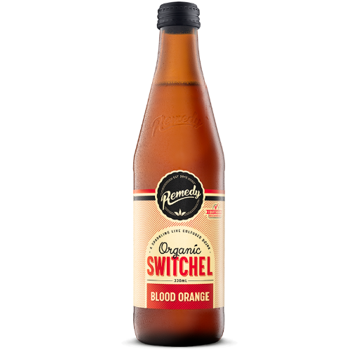 Remedy Switchel Blood Orange 330ml