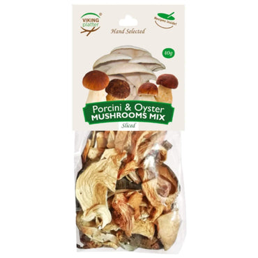 Viking Wild Porcini Oyster Mushrooms Mix
