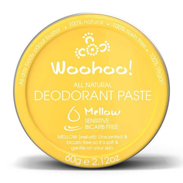 Woohoo Deodorant Paste Mellow Sensitive Tin (60g)