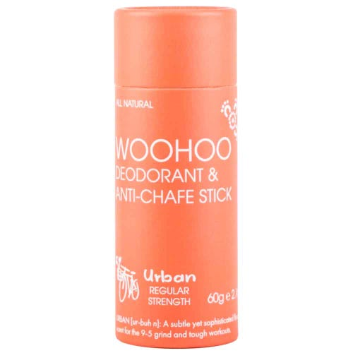 Woohoo Deodorant & Anti-Chafe Stick Urban Regular Strength (60g)