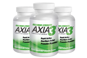 3 X AXIA3 ProDigestive™ Natural Heartburn Relief 90-Counts [20% OFF]