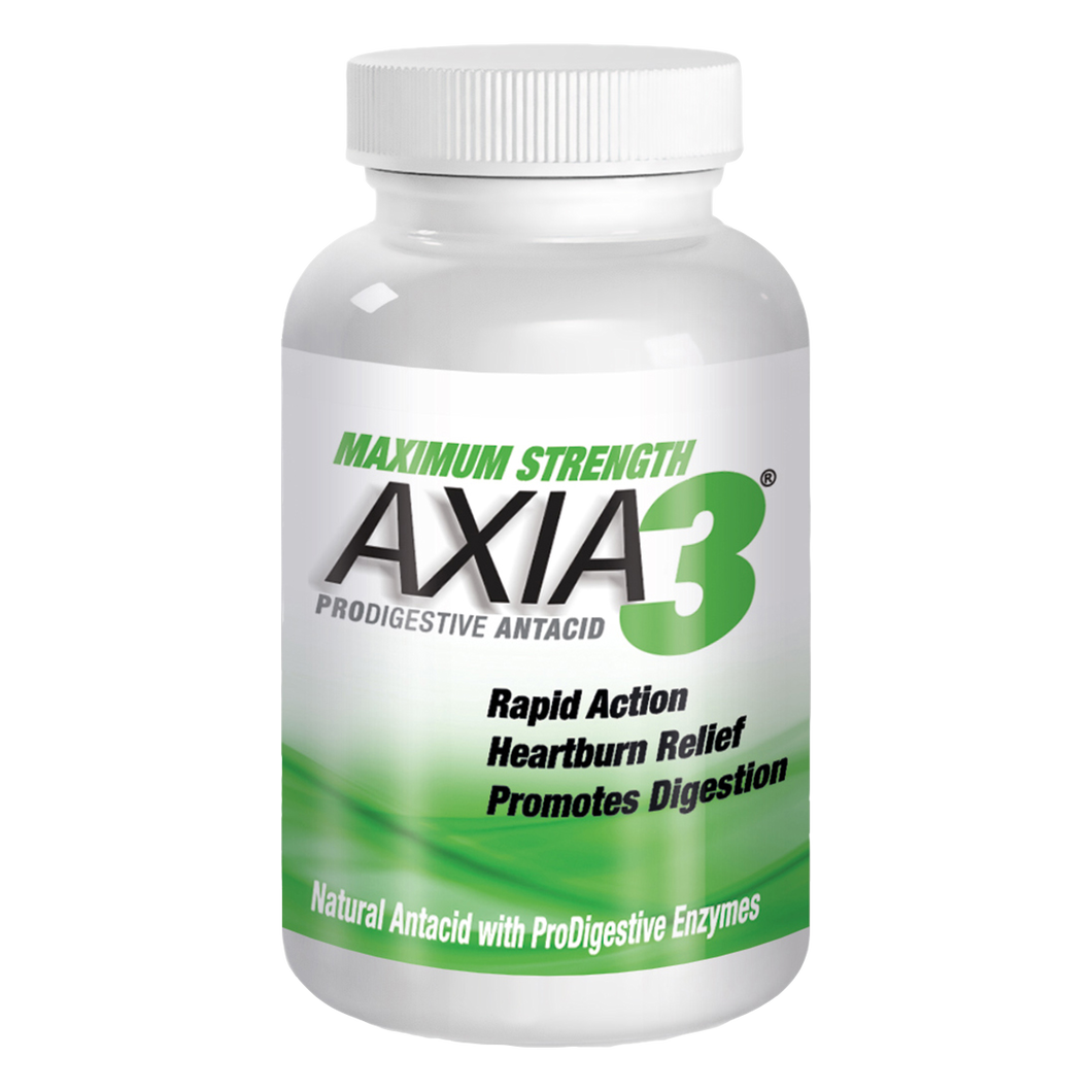 Subscribe & Save: AXIA3 ProDigestive™ Natural Heartburn Relief 90-Count | 20% OFF + FREE Shipping