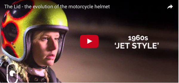 THE LID – THE EVOLUTION OF THE MOTORCYCLE HELMET