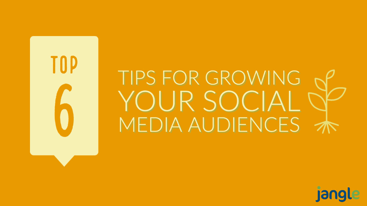 My Top 6 Tips for Growing your Social Media Audiences