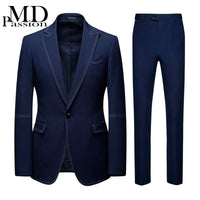 New Suits with Double Stitching Design