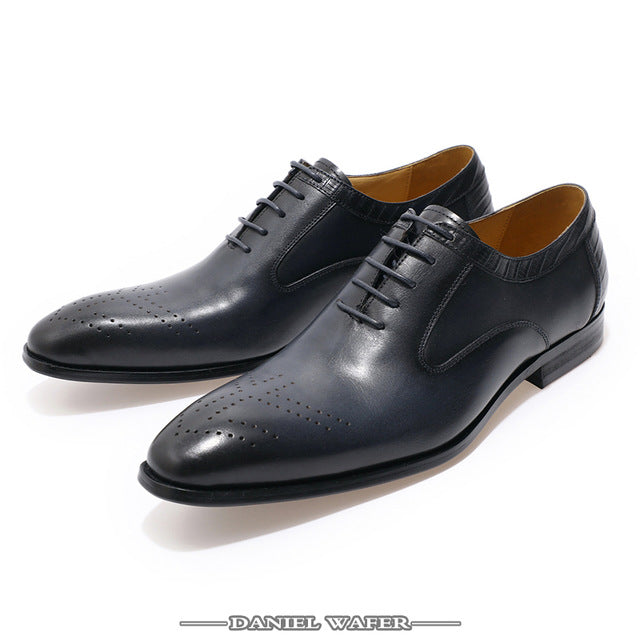 SHOES BROGUES FORMAL POINTED
