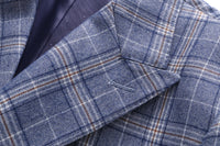 4 - Button Plaid Suit