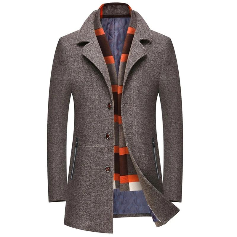 Winter Wool Coat Fashion