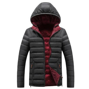 Coat Warm Hooded Outwear Ultralight Classic