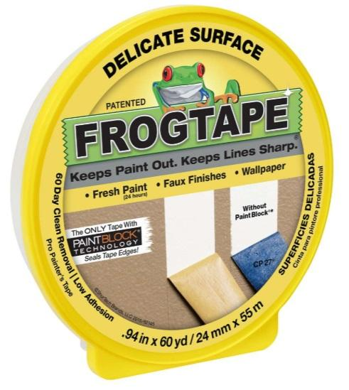 Frog Tape - Delicate Surface Yellow - New Look Interiors