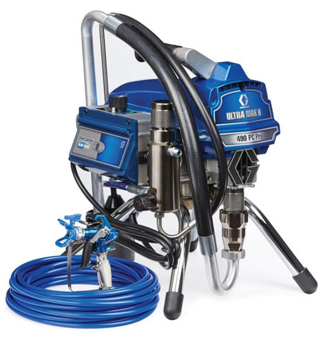 Graco Ultra Max II 490 Pro Electric Airless Paint Sprayer Stand - New Look Interiors