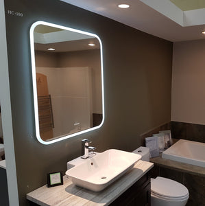Lauren LED Edge Lit Mirror - New Look Interiors