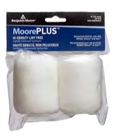 MoorePlus Roller Refill 2PACK 100 mm (4 inch) 10 mm pile - New Look Interiors