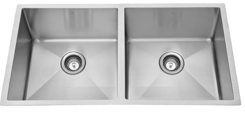 Quila E Stainless Steel Undermount Sink - New Look Interiors