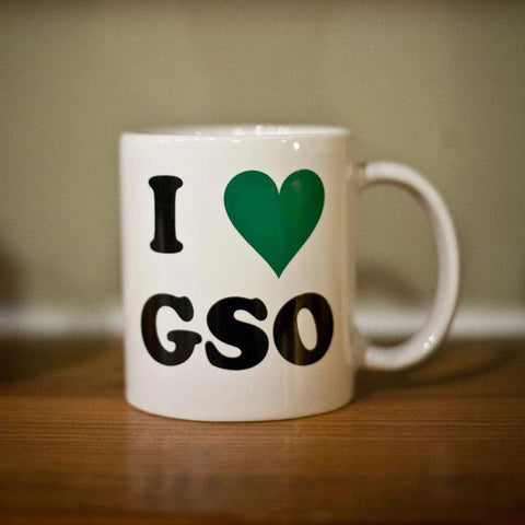 I Love Greensboro Mug