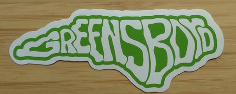 Greensboro HD Stickers