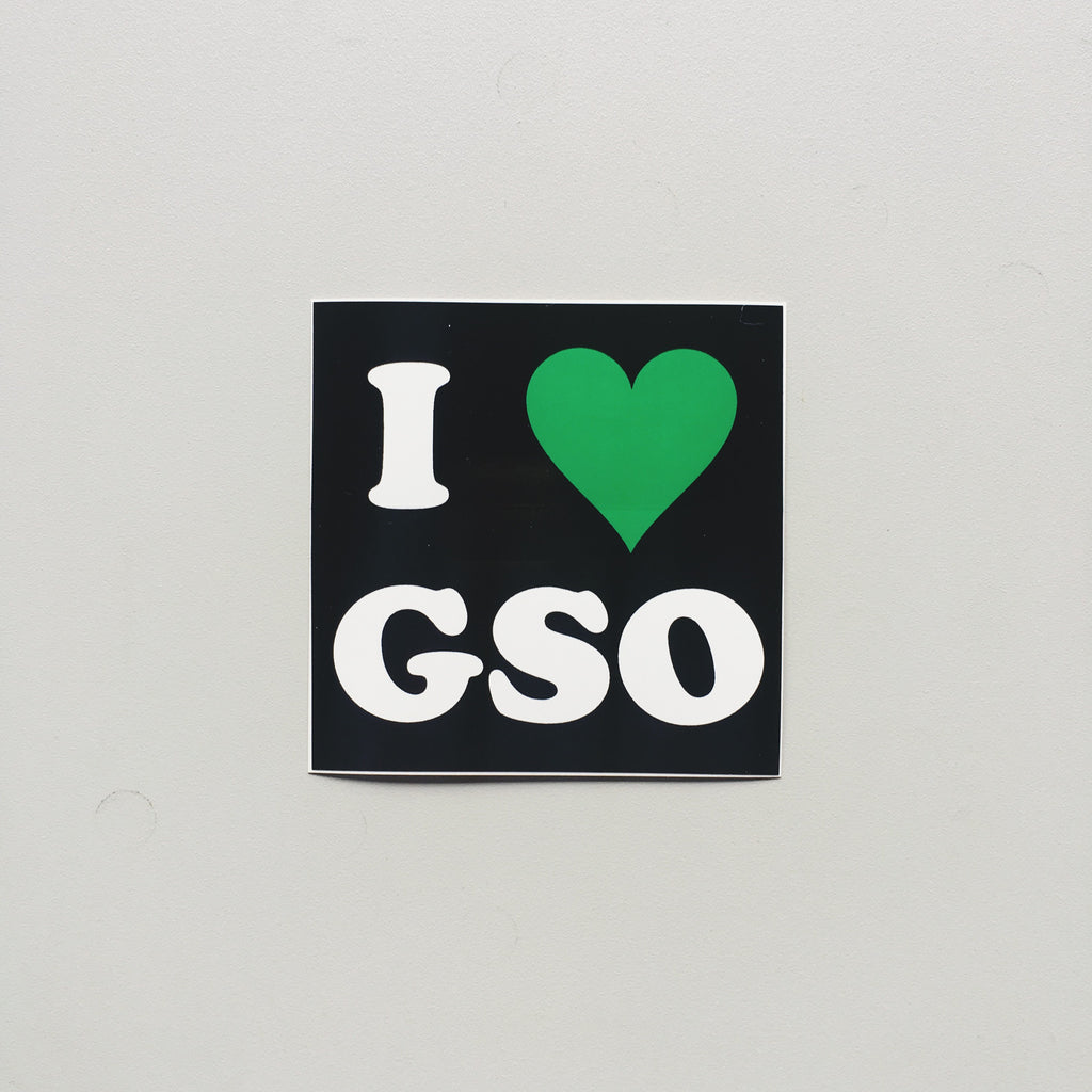 I love GSO Sticker