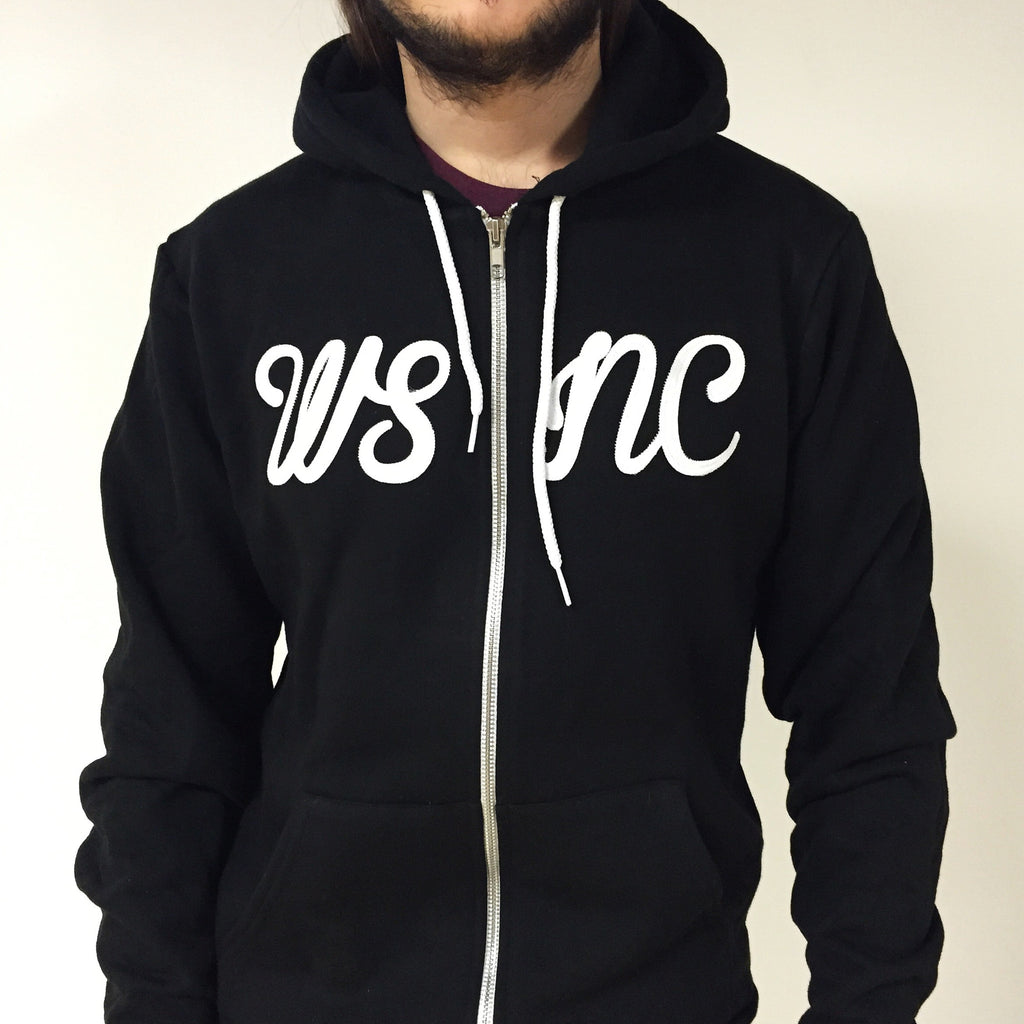 WSNC Full Zip Hoody.  Made in USA.