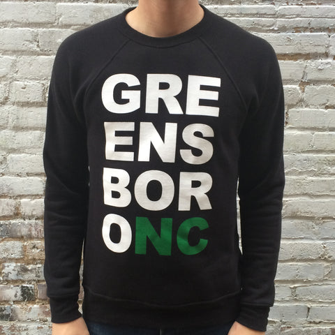 Greensboro Mega Block Sweatshirt Black