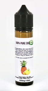 600mg 100% Pure CBD - Tropical Melody Vape Juice - 60ml - 100% Pure CBD