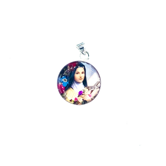 St Therese Pendant