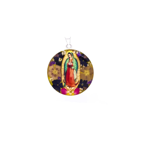 Our Lady of Guadalupe Pendant (XXL) (R)