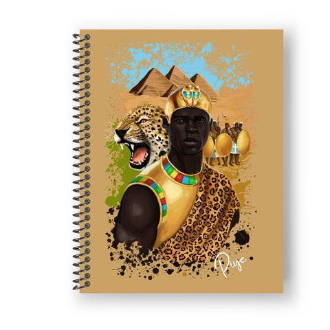 King of Kush Full Sized Notebook