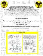 Load image into Gallery viewer, The Kwanzaa Activity, Affirmations and Coloring Book