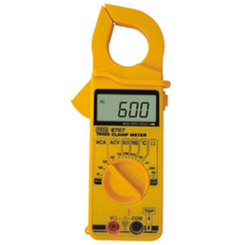 Meco 2727, AC TRMS Digital Clamp Meter, 600A
