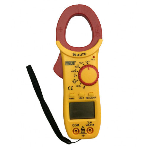 Meco 36 AUTO, AC/DC Digital Clamp Meter, 400A
