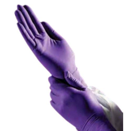Kimtech KC500, Purple Nitrile Exam Gloves / Small, 9