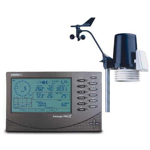 Davis 6152 Cabled Vantage pro 2 with Software and Datalogger (6510) - Labbazaar