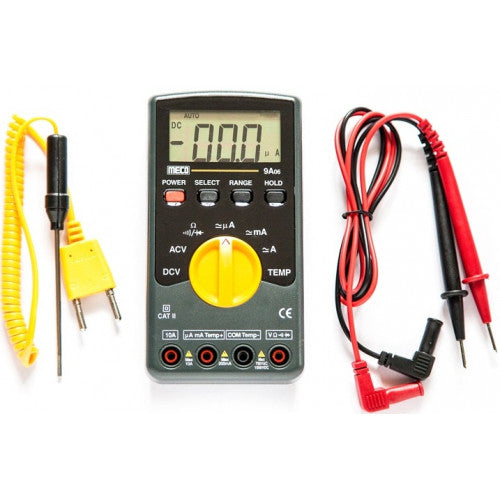 Meco 9A06, Digital Multimeter with Auto Ranging - Labbazaar