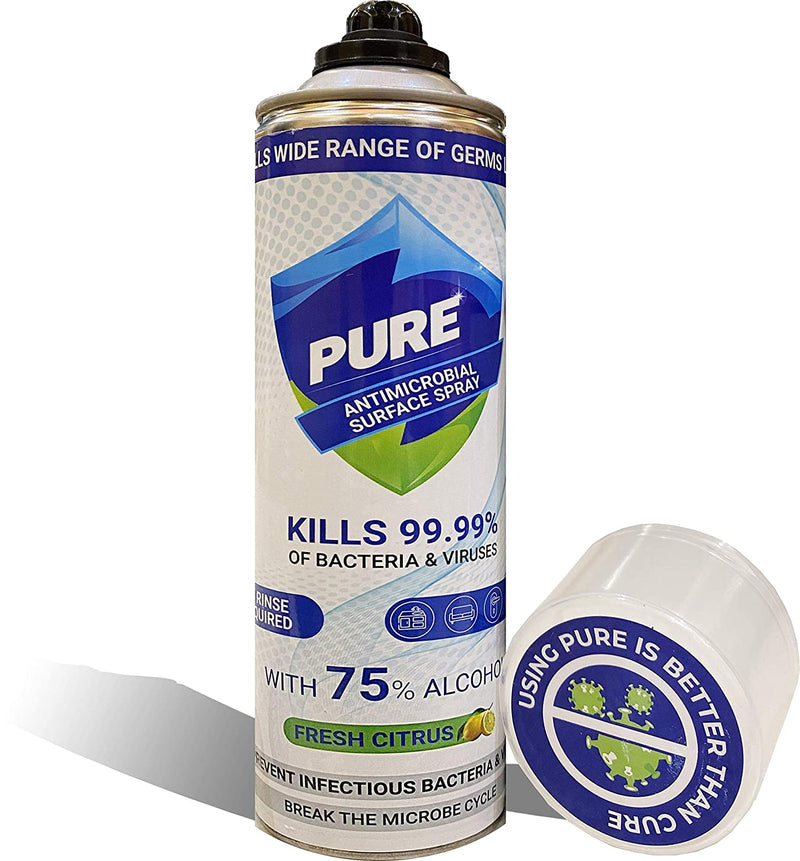 Pure Antimicrobial Surface Spray - 250ml - Pure Surface Disinfectant Spray