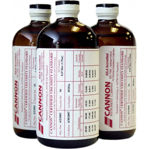 Cannon 9727-E20, High Viscosity Standards, 500 ml, N8000 - Labbazaar