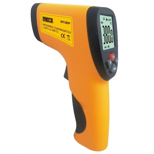 Meco IRT 380T, Infrared Thermometer, - 50 to + 380 Degree Celcius - Labbazaar