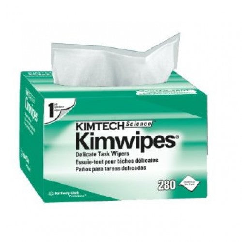 Kimtech 01223, Science Kimwipes Delicate Task Wipers, White, 1Box / 280 sheets - Labbazaar