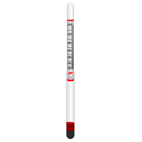 Omsons 2022, Specific Gravity / Beaume Glass Hydrometer for general purpose - Labbazaar