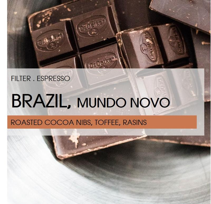 Brazil l Fazenda California l Mundo Novo l Pulped Natural